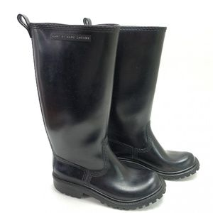 Marc By Marc Jacobs Rain Boots Rubber Tall